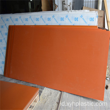Phenolic Sheet Orange Black Harga Papan Bakelite