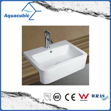 Lavatório de lavagem de mão de lavatório de lavatório e arte de armário cerâmico (ACB8169)