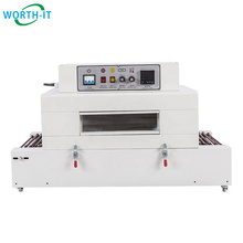 Window shrink wrapping machine thermal shrink tunnel shrinking packaging machine CE from China