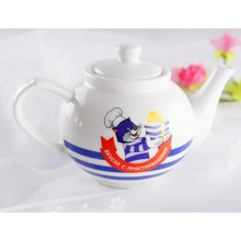 Personalizado porcelana chá pote