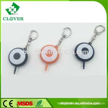 mini 6 led flashlight keychain for iPhone and Android Devices