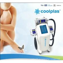 Cuerpo que forma el vacío Coolsculpting que refresca Cryolipolysis