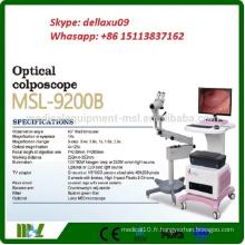 MSL9200B-A 2016 nouveau produit Colposcope optique Vente de Colposcope numérique de gynécologie numérique à bas prix