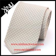 100% gravata de seda tecida artesanal de seda