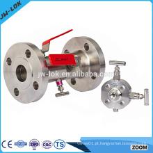 Válvula de purga de bloqueio duplo de alta pressão Oliver