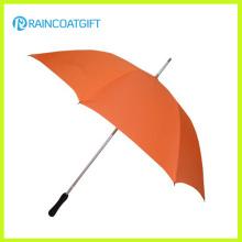 Parapluie de golf droit coupe-vent de grande taille