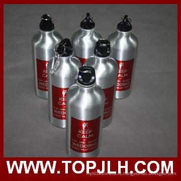 Сублимация 600 мл алюминиевого Спорт столовая бутылка воды