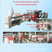 Hoja de policarbonato que hace la máquina / hoja que hace la máquina