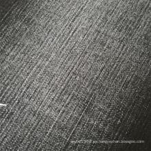 Tela vaquera de lycra bambú negra para legging jeans