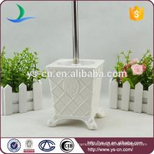YSb50070-01-tbh Royal elegancia de diseño de baño de cerámica porta cepillo de tocador