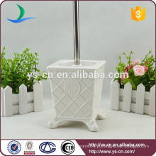 YSb50070-01-tbh Design de elegância real de cerâmica banheiro toalheiro escova titular