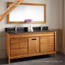 Cuartos de baño antiguos hermosos libres del doble de los fregaderos del cuarto de baño