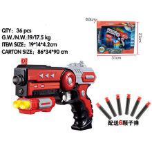 6PCS Bullet 2 cores Speedy Soft Bullet Toy Gun
