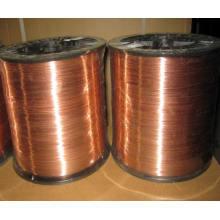 Arame de soldagem revestido de cobre para fio de solda de unhas de bobina / bobina
