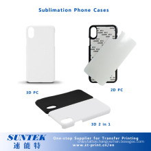 Plastic Blank Sublimation Cell Phone Case