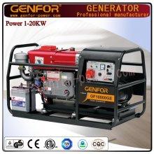 Générateur diesel à faible consommation de carburant 12kVA avec générateur puissant