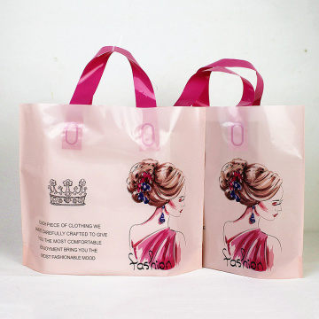 Eco-friendly PE Material Plastic Shopping Bag