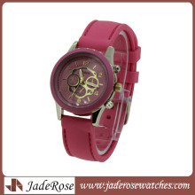 New Fashion Multi Color Strap Quartz Ladies Silicone Watch