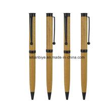 Pluma de madera modificada para requisitos particulares diseño de lujo profesional de la fábrica para la promoción