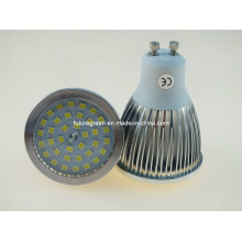 Супер-яркий GU10 7W 600lm светодиодные лампы свет