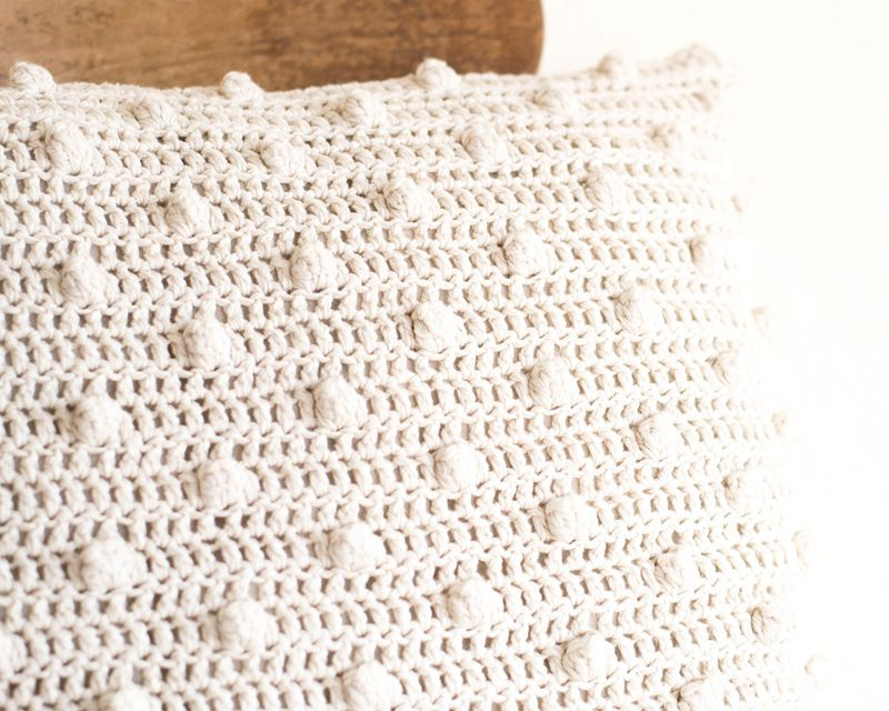 6 1crochet Cushion Cover
