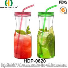 Hot Sale Colorful BPA Free Tritan Juice Water Bottle, 900ml Plastic Water Bottle (HDP-0620)