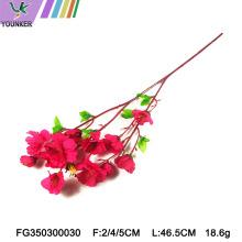 Décor d'arc de mariage Fleurs de fleur de cerisier artificielles