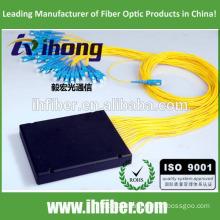 SC FC ST LC 1*2/1*4/1*8/1*16/1*32 Fiber Optic PLC Splitter