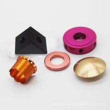 L'usinage CNC personnalise les pièces en aluminium 6061 d'anodisation de couleur