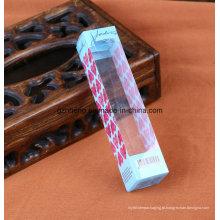 caixa plástica de dobramento impressa costume (caixa de embalagem de PP / PVC / PET)