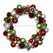 Plastic bulk christmas led battery operated wreaths