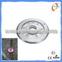 Hochwertiges DMX 9W IP68 Unterwasserlicht, Edelstahl 316 Pool Licht Led Brunnen Licht