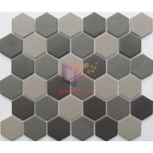 Matt Hexagon Ceramic Mosaic for Kitchen Splash (CST275)