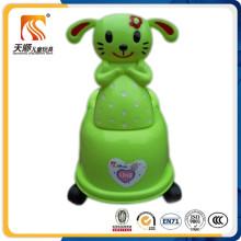 Cadeira potty de plástico para crianças feitas na China com WC interior removível