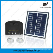 2PCS Bulbs Solar Powered System for Rural Areas