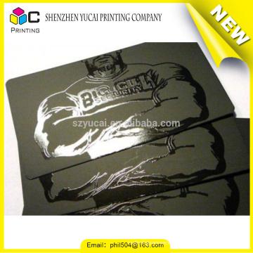 Fornecedor confiável da China, transparente, plástico, personalizado, transparente, plástico, negócio, cartões