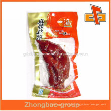customized clear plastic nylon bag for food packaging