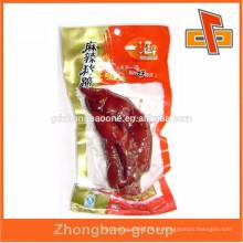 Saco de nylon transparente personalizado para embalagem de alimentos