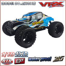 vrx racing RC 1/10 Scale 4X4 big wheel Nitro Model Car