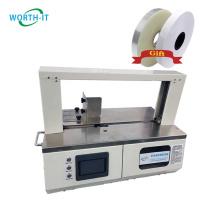 Worth-it automatic banknotes business card hardware banding machine with 20 or 30mm band