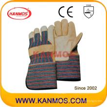 Длинные манжеты для коровьей кожи Перчатки промышленной безопасности (120021L)