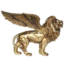 2018 venda quente melhor venda estátua de bronze do leão voador famoso