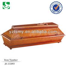vente en gros artisanat nouveau cercueil en teck