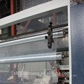 LDPE/HDPE single layer co-extrusion plastic film blowing machine for trash bag
