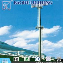25m 400W 12PCS LED de iluminación de alto mástil