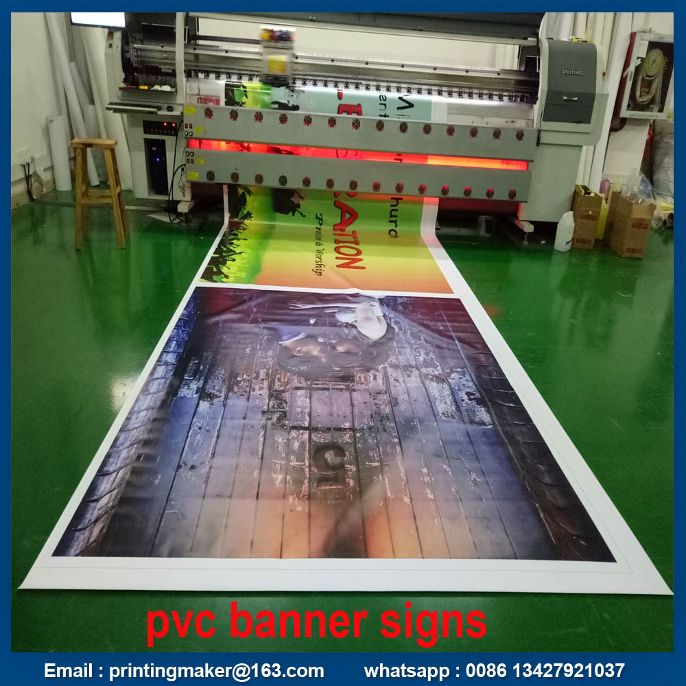 pvc banners printing service