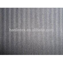 100D * 100D 110 * 76 Herringbone Pocketing Stoff für Bekleidungsbeutel