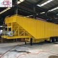 Van Bulk Soybean Corn Transport Semi-remorque