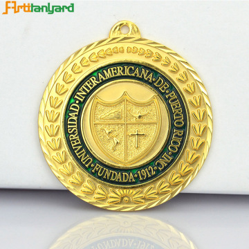Zink Alloy Custom Logo Metal Medal