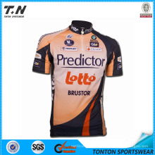 Team Bicycle Bike Cycling Wear with Coolmax Fabric